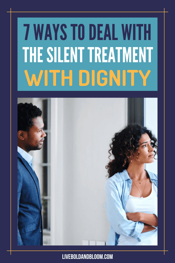 The silent treatment in a relationship is a type of emotional abuse. Learn to deal with someone who is using this abuse tactic to exclude you.