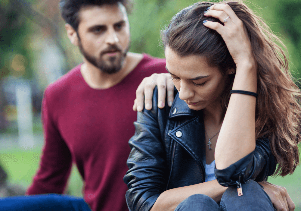 Unhappy couple, how to stop being controlling