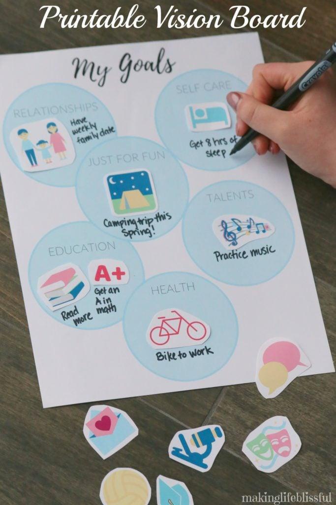 Vision Board Kit (via Making Life Blissful)