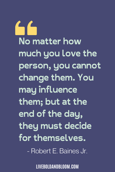 a quote by Robert E. Baines Jr. toxic people quotes