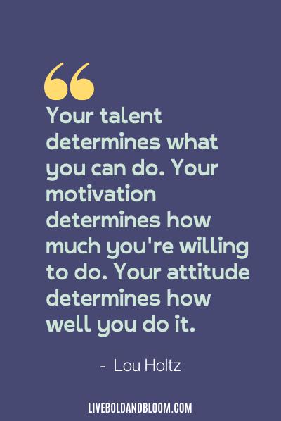 Lou Holtz quote motivation Monday quotes