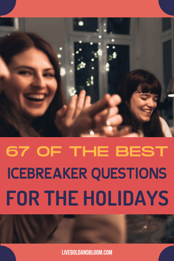 Reduce the dull moments and quiet times with these Christmas icebreaker questions you could surely have fun with.