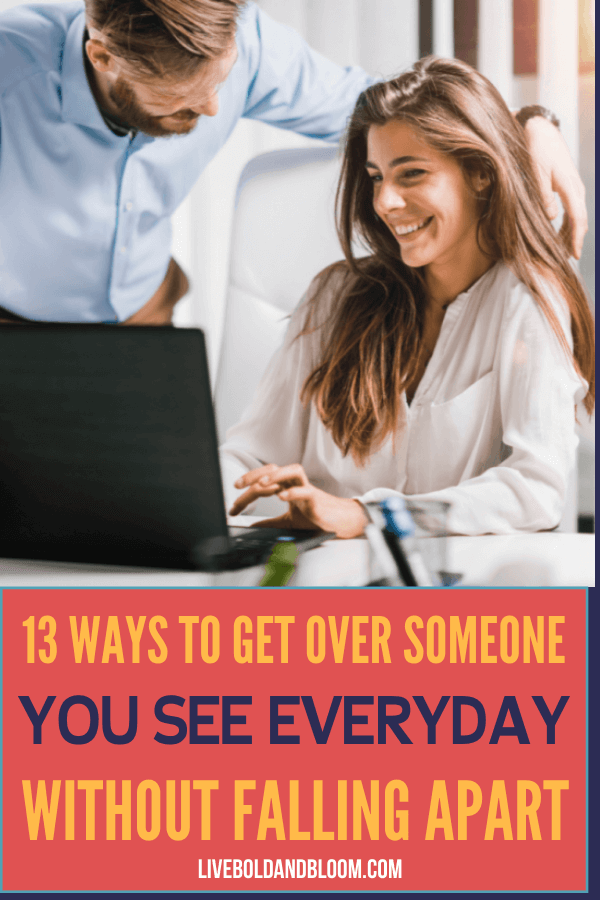Having a crush on someone you see always is hard especially when the feeling is not reciprocated. Know how to get over someone by reading this post.