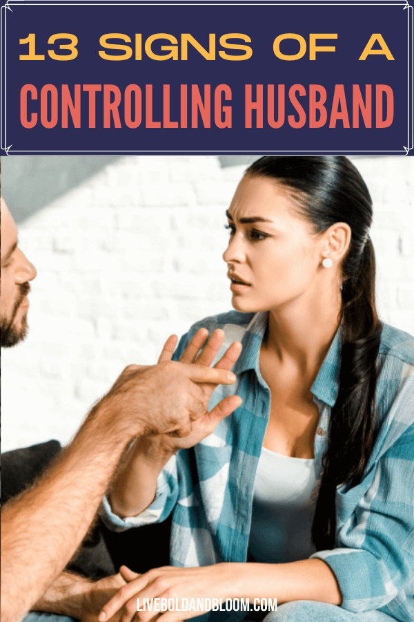 Is your husband disrespecting your boundaries? Your husband might be a controlling one. Check this post and see the signs of a controlling husband.