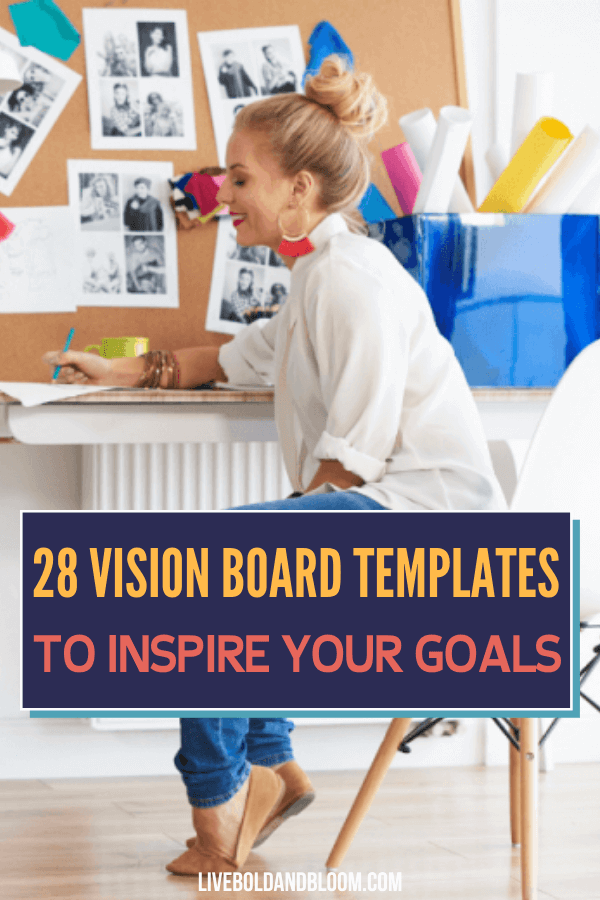 Have you been wanting to create a vision board but you're torn on what design you should use? Check out these free templates