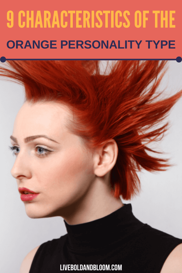What is the orange personality type and what are the characteristics of individuals with this personality? Read this post to find out more.