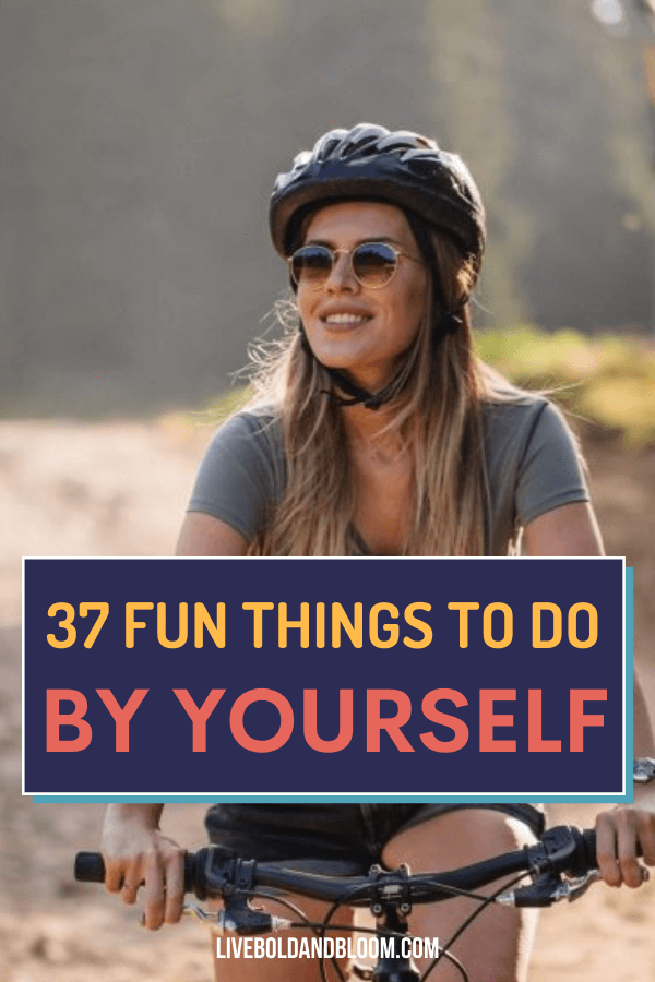 Do you feel pressure to socialize all the time, or do you long for some time by yourself to recharge? Check out these 37 fun things to do alone that will help you relax and recharge.