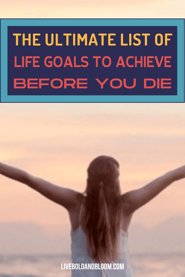 Living without a vision is similar to living without a purpose — it is essentially a waste of time. If you don't wake up energized every morning to make your day an amazing one, you probably don't have a life goals list to achieve. life goals future | life goals list #passion #lifegoals