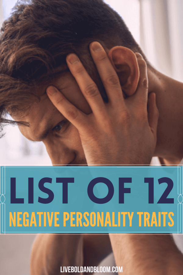 We all have negative attributes that need our attention.  If I ask you to identify some of your own, I'll bet at least one comes to mind.  And once you become aware of them and how they affect other people, you're more likely to put in the effort to correct them. #personaldevelopment #personality #mentalhealth #mindfulness #traits