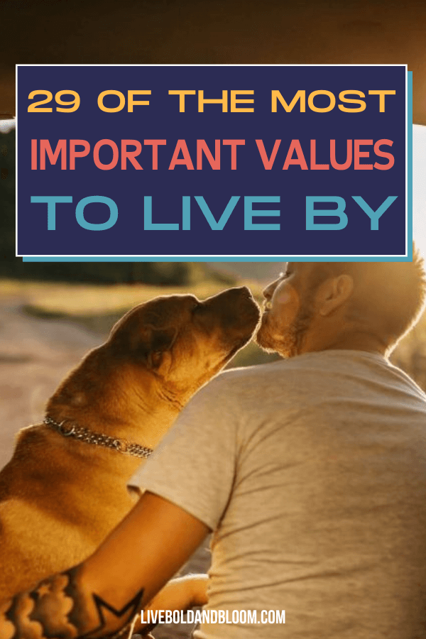 Do you have guiding principles to help you make sound decisions and live your best life? If not, you need to define values in life to guide and support you. Here is our list of the most important values in life which can serve as your guide.