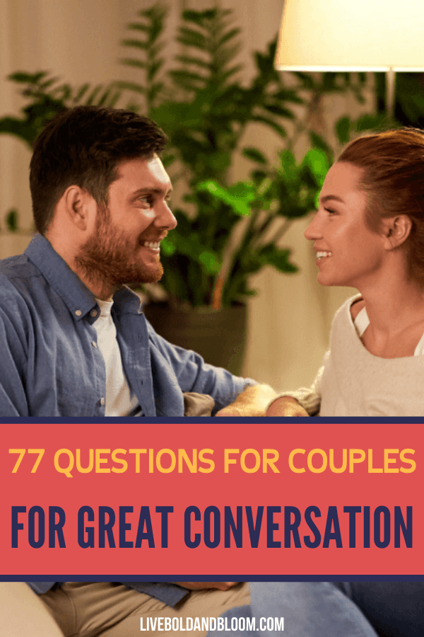 The most successful and lasting relationships require mindful communication before a conflict ever arises.  And part of this communication means sharing questions for couples to draw you both out.  Meeting regularly with your spouse or partner to ask questions and learn more about each other safeguards your relationship from painful conflicts. questions for couples games | questions for couples get to know you | questions for couples to reconnect