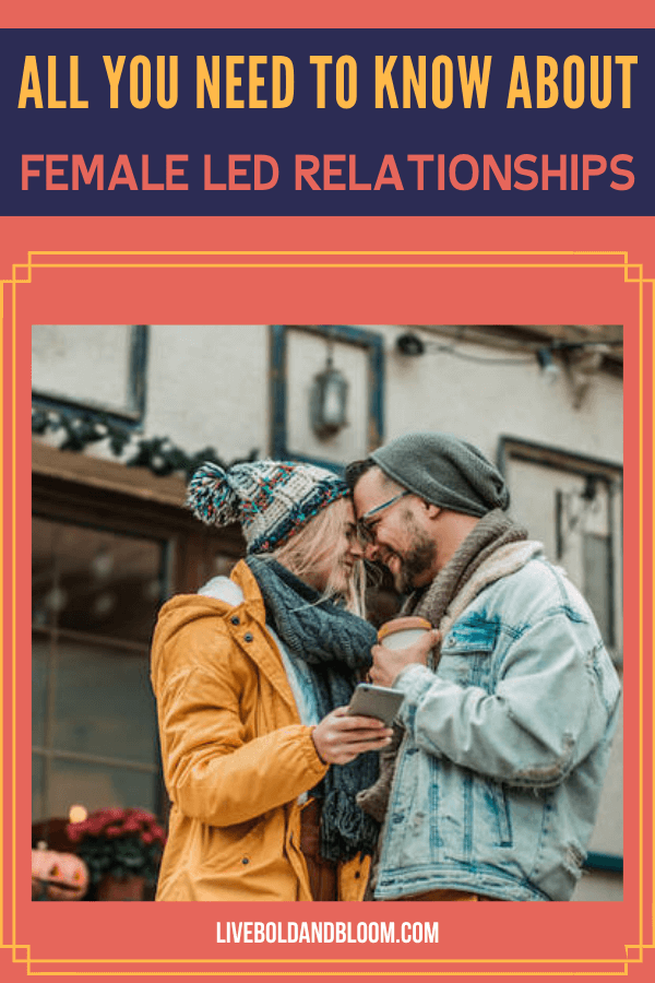 A female-led relationship is one in which the woman becomes the principal decision-maker, often taking the lead and exhibiting a more dominant persona.