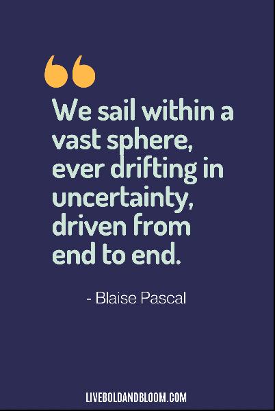 uncertainty quotes