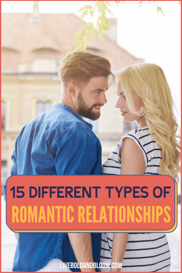 How many different types of love relationships are there? Maybe you can think of a few, but are there really 15 distinct relationship types?