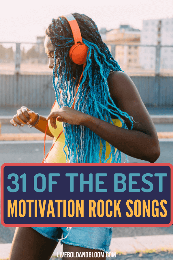 Are you feeling down and uninspired lately? Relax, chill, and listen to these motivational rock songs we've curated to help you feel positive and more energetic to get your goals done.