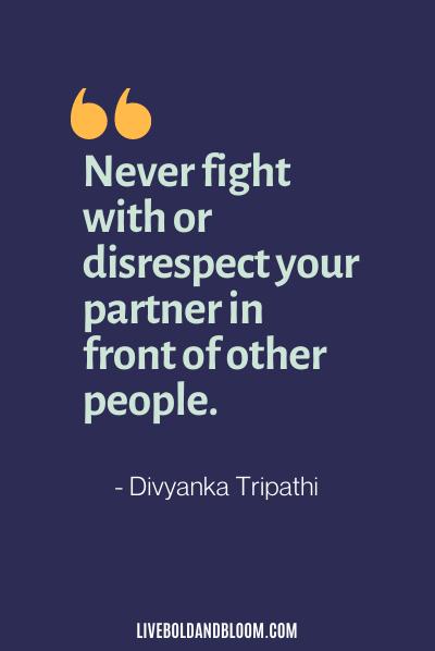 disrespectful husband quotes by Divyanka Tripathi