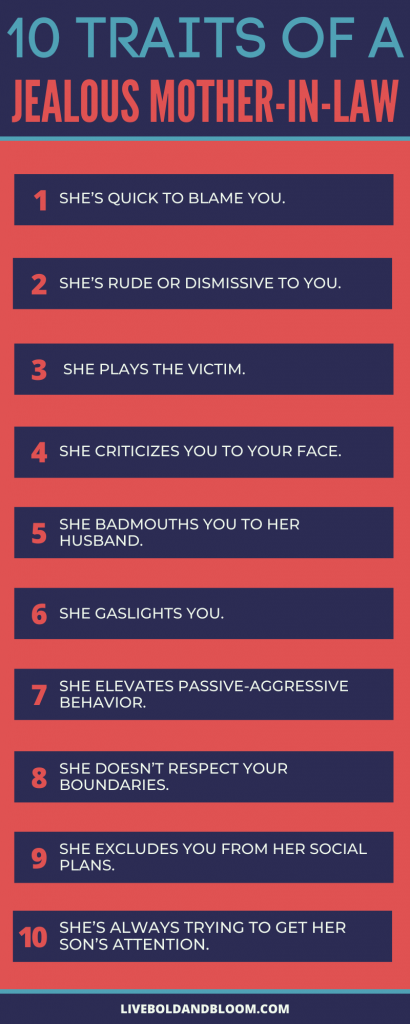 Traits of a Jealous Mother-in-law