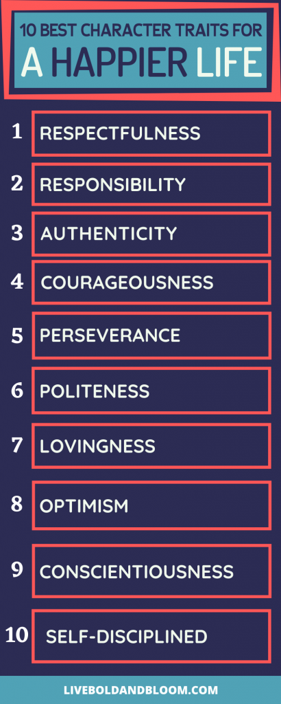 character traits of a happier life